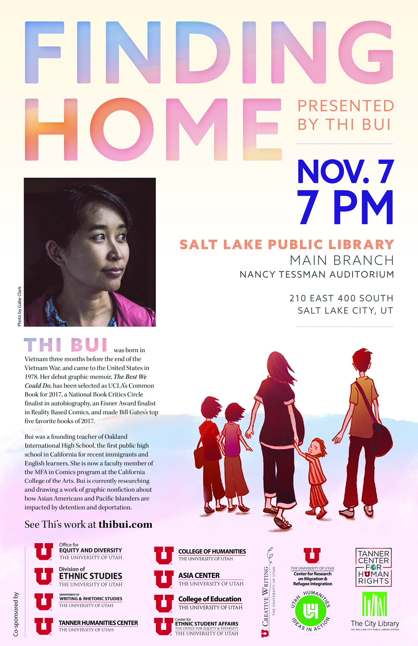 'Finding Home' presented by Thi Bui